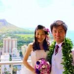 ハワイ  キャルバリーバイザシーで挙げる家族と行くハワイ挙式
