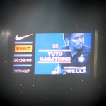 セリエA『ミラノダービー』観戦 「チャオ、カピターノ!!NAGATOMO!!」