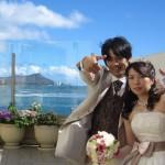 憧れの「テラスバイザシー」で挙げるハワイ挙式6日間