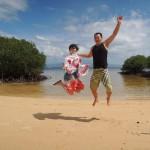 レンボンガン島できれいなビーチを堪能 バリ島8日間