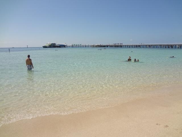 グリーン島ビーチ (1)