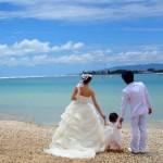 お子様とご一緒に!ビーチフォトウエディング in ハワイ・オアフ島