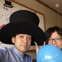 ④日目ナーンタリ・ムーミンルーム帽子を被って