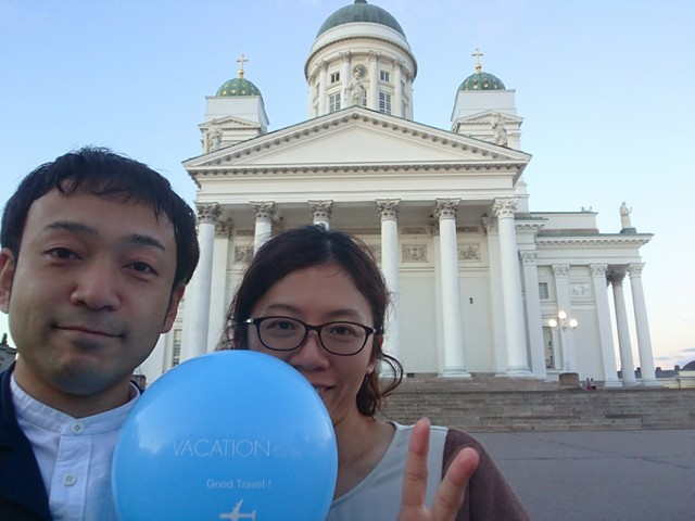 ⑦日目ヘルシンキ大聖堂