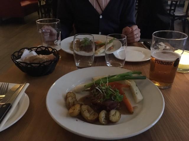②日目コペン・レストランの夕食