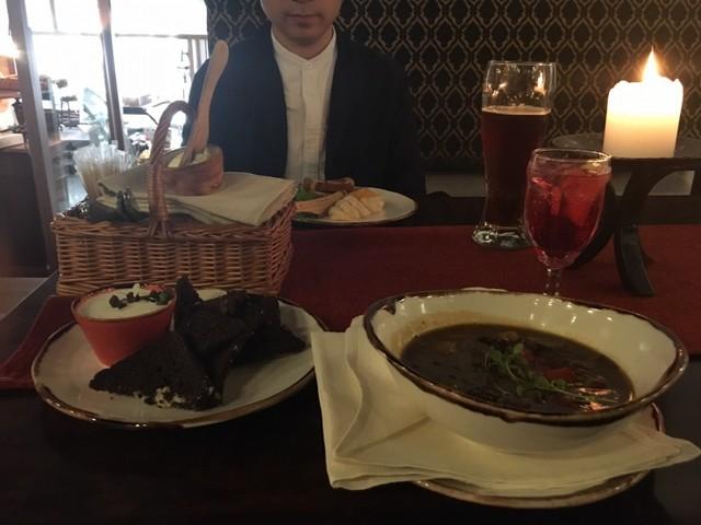 ⑦日目タリンレストラン