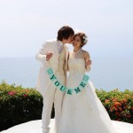 青い空と海を大満喫!ご友人と一緒にBALI WEDDING♪